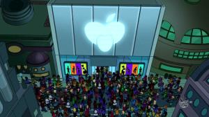 Capítulo 3 de la temporada 6 de Futurama - El ataque de la aplicación mortal