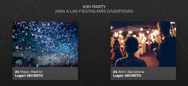 Fiestas secretas en Madrid y Barcelona para publicitarse